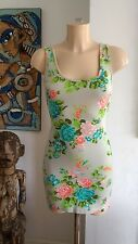 Smoove Stretch Summer Cotton/Lycra Dress Size S/M Great Condition