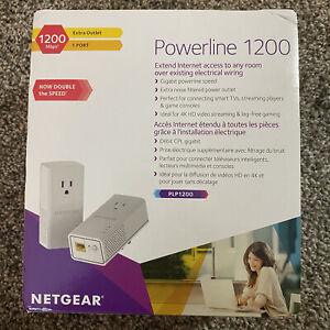 NETGEAR Powerline 1200-Mbps Adapters Model PLP1200