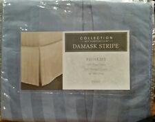 Charter club Damask Stripe Bed skirt Twin. Lake