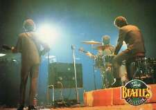 The Fab Four getting Pelted with Jelly Beans on Stage --- Beatles Trading Card