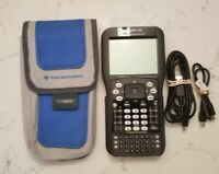 Texas Instruments Ti-Nspire CAS Graphing Calculator With Case & Cords