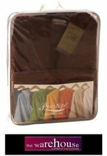 HEAVY 400GSM DELUXE 100% EGYPTIAN COTTON TOWEL BATHROBE BATH ROBE CHOC BROWN