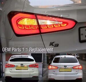 OEM Surface Emission Trunk LED Tail Lamp 4P For KIA 2013-2017 Forte /Cerato /K3