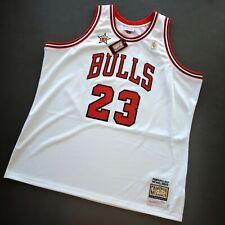 100% Authentic Michael Jordan Mitchell Ness 1997 All Star Jersey Size 56 3XL