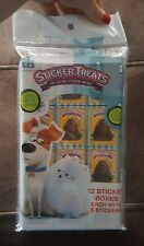 Secret Life of Pets set of 12 sticker boxes party favors  (VERY LAST ONE)