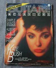 Guitare & Claviers magazine 60 - kate bush balavoine simple minds albert lee