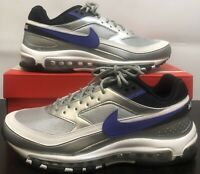 New Men's Nike Air Max 97/BW Metallic Silver Persian Violet Size:12 AO2406 002