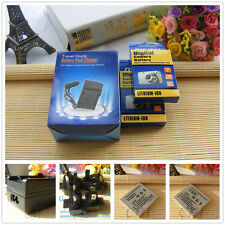 TWO NB-4L Battery + Charger for Canon IXUS 117 HS 225 HS 255 HS 80 130 115