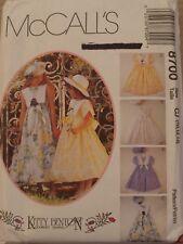 McCall's Kitty Benton Girls Dress and Beret Pattern 8700 - Size 10, 12, 14