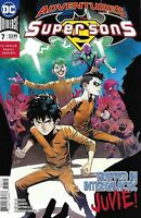 Adventures Of The Super Sons Comic Issue 7 Modern Age First Print 2019 Tomasi DC
