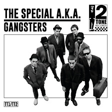 """SPECIAL A.K.A. - GANGSTERS - UNIQUE REPLACEMENT 7"""" UK PICTURE SLEEVE - 2 TONE"""