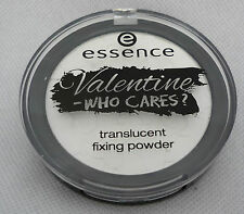 Essence Valentine-Who cares? Translucent fixing Powder 8g 01 Guys allowed, not!