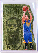 2013/14 PANINI INTRIGUE STEPHEN CURRY GOLD PARALLEL DIE CUT 09/10