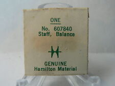 GENUINE Sealed Pack New Old Stock Hamilton Balance Staff for Grades 767 & 768
