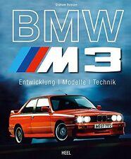BMW M3 Entwicklung Modelle Technik Rennsport E30 E36 E46 E90 DTM Power Buch Book