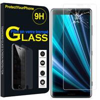 "Vitre Protection Écran Film Verre Trempe Sony Xperia XZ3/ XZ3 DUAL SIM 6.0"""