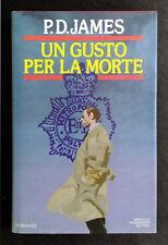 P. D. James, Un gusto per la morte, Ed. Mondadori, 1987