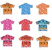 Camisa Hawaiana Despedida Soltero Noche Disfraz Vacaciones Talla S a XXXL