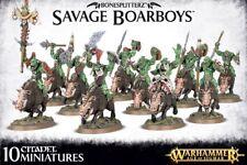 Bonesplitterz Savage boarboys Warhammer Age of sigmar Games Workshop wildorks