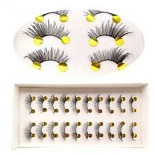 10 pairs Makeup Mini half Corner Black False Eyelashes Natural Eye Lashes