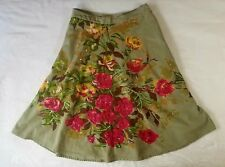 new MISS ME Jeans SKIRT super rare country western sz S like a 26 or 27 floral