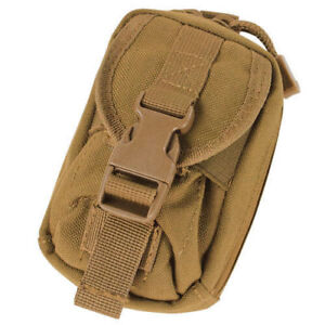 CONDOR MOLLE Pouch Holster for Phone GPS Camera Gadgets Coyote Brown