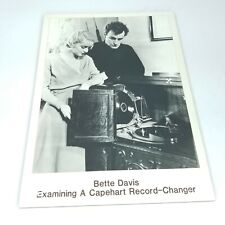 Magnavox VTG Photo Advertising Board Record Player Bette Davis Baby Jane Movies