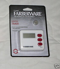 New Farberware Classic Digital Timer w/ Stand Magnetic Kitchen Cooking