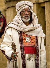 PHOTO BEN-HUR  -  MORGAN FREEMAN  - 11X15 CM # 2