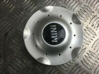 MINI ALLOY WHEEL CENTRE CAP (1x) in SILVER MINI COOPER ONE R50 R53 R56 6771001