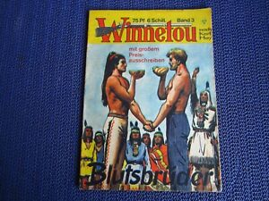 Karl May - Winnetou Band 3 / Original Lehning Verlag (Sigurd Bill Jim)