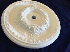 Plafond de roses polystyrène ajustement facile très léger windy 50cm (19.685 pouces)