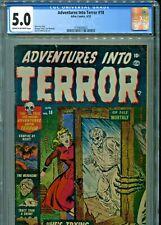 Adventures into Terror #18 Atlas Comics 1953 CGC Graded 5.0 Stan Lee Story