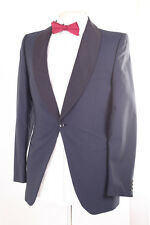 ODERMARK NAVY WOOL BLEND MEN'S TUXEDO SUIT 36L DRY-CLEANED