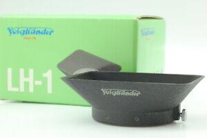 【TOP MINT in BOX】 Voigtlander LH-1 Metal Lens Hood for Color-Skopar From JAPAN