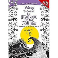 Art of Coloring: Tim Burton's The Nightmare Before Christmas: 100 Images to