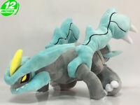 Big 12 inches Wow Pokemon Kyurem Plush Stuffed Doll Soft PNPL5320