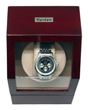 Heiden Single Watch Winder for Automatic Mechanicals Cherry Finish MSRP $329.95
