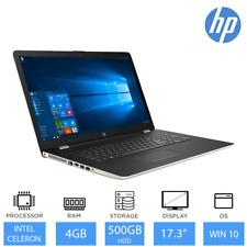 "HP 17-bs027na 17.3"" Multimedia Laptop Intel Dual Core 4GB RAM, 500GB HDD, DVDRW"