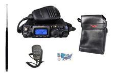 Yaesu FT-818 HF/VHF/UHF Radio w/ Soft Vinyl Case, DTMF Mic, & MFJ-1899T Antenna