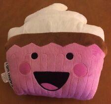 "Moxie Girlz I Am Happy Cupcake Pillow 12"""