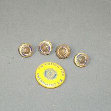 Set of 4 Vintage American Legion Buttons