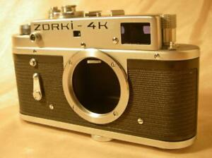 ZORKI-4K 35mm film camera BODY M39 LTM lens mount Leica copy ENGLISH VERSION