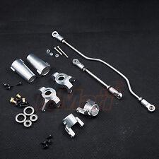 Xtra Speed Aluminium 6061 T6 Upgrades Combo Set Silver Axial Wraith Car #CB0974