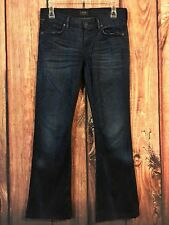 Citizens of Humanity Womens Jeans Dita Petite Boot Cut Stretch Sz 26 X 29.5 Dark