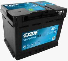 Batteria auto EXIDE EL600 START-STOP EFB ALFA CITROEN FIAT FORD HONDA HYUNDAI JE