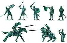 Ideal Prince Valiant Knights - 70mm toy soldiers 12-pc set - RARE