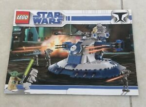 LEGO Star Wars Armored Assault Tank 8018 - Instruction Booklet Only