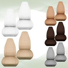 nice set  velour front car seat covers beige/tan/dark gray/green ,choose color