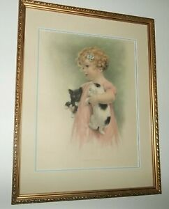 "vtg. wonderful BESSIE PEASE GUTMAN FABULOUS ""friendly enemies"" beaufiully  FRAM"